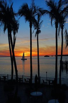 Sunset Sail  Sanibel Harbor, Florida by  Robert...