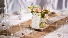 svatební dekorace stolu mistr florista Pavlína Vítková