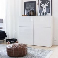 Incredible IKEA Bedroom, Shelves and Storage Ideas - Decomag.- Incredible IKEA Bedroom, Shelves and Storage Ideas – Decomagz - Ikea Living Room, Ikea Bedroom, Home Decor Bedroom, Bedroom Furniture, Diy Home Decor, Bedroom Ideas, Urban Furniture, Cheap Furniture, Living Rooms