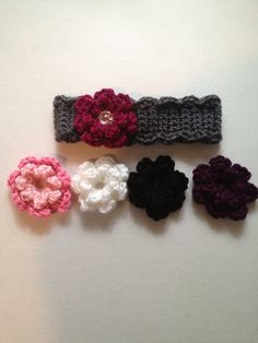 Crochet baby headband crochet earwarmer by nessjude16 on Etsy, $17.00