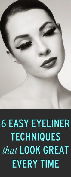 6 tricks for pretty eyeliner