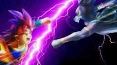 Battle of Gods Goku vs Beerus by PikachuStar93 on @DeviantArt