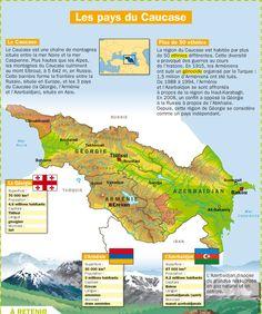 Fiche exposés : Les pays du Caucase