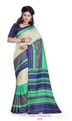 Malgudi Silk Unforms - Uniform Sarees India