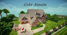 Tudor Mansion Ft. TheEvilEnderman (World of Keralis) [Download!] Minecraft Project