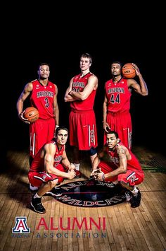 Outtakes from our Spring 2013 Arizona Alumni Magazine photo shoot with the #ArizonaWildcats basketball team.