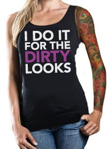 Inked n sexy tank