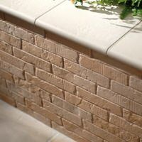 Durable, tile resistance, trims, wall coverings also for outdoor use!
