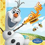 Frozen Olaf Summer Napkins - 2ply Paper