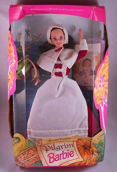 $34.99 with free shipping Pilgrim Barbie #barbie #dolls
