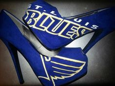 Perfect to wear to the ST LOUIS BLUES GAMES.