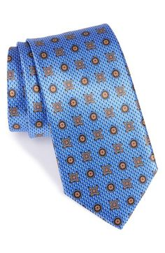 Canali Medallion Silk Tie available at  Nordstrom Personal Branding 7ff94f532d920
