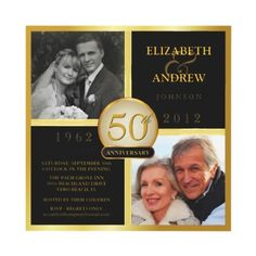 64 Best 50th Anniversary Invitations Images 50th Anniversary