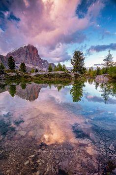 Tofana di Rozes by Daniele Orsi in the Italian Dolomites