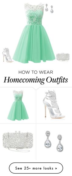 """outfit 2697"" by natalyag on Polyvore featuring Giuseppe Zanotti and Natasha Couture"