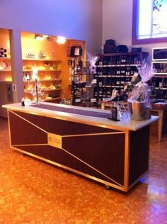 Our new tasting bar! Wines, Liquor Cabinet, Bar, Storage, Furniture, Home Decor, Store, Home Furnishings, Interior Design