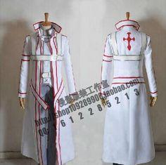 2016 Sword Art Online Kazuto Kirigaya kirito cosplay costume - Knights of the Blood C Custom Made #Affiliate