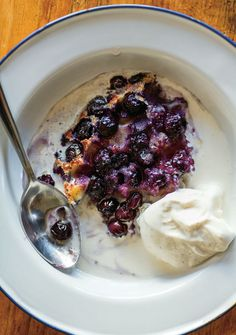 Blueberry Clafouti Recipe