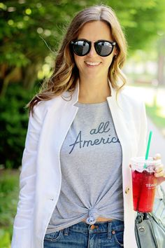 jillgg's good life (for less) | a west michigan style blog: my everyday style: all american!