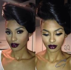 Love this look, that & lip