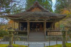 https://flic.kr/p/BrBBJM | Discovering Rural Ōhara in Kyoto: Sanzen-in. | Ōjō Gokuraku-in (往生極楽院) in the Shuheki-en Garden (聚碧園) of Sanzen-in (三千院) in Rural Ōhara in Kyoto.