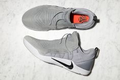 Kobe A. NXT arrives next week. Today Nike has introduced the newest Kobe Bryant sneaker silhouette, the Kobe A. NXT, which features a flyknit upper and a. Casual Sneakers, White Sneakers, Casual Shoes, Kobe Shoes, Kicks Shoes, Kobe Bryant Sneakers, All White Shoes, Baskets, Best Basketball Shoes