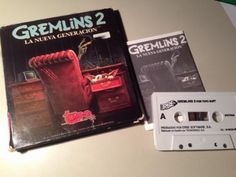 ZX SPECTRUM - GREMLINS 2 Juego Español Topo Soft Dinamic Opera
