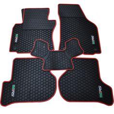 63.42$  Buy now - http://alix9b.worldwells.pw/go.php?t=32563525109 - special waterproof rubber texture mat original position snap dedicated bridge car floor carpets for SkodaOctavia / RS 63.42$