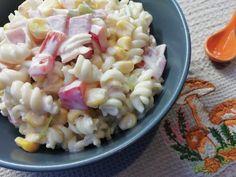 Pasta Salad, Fitness, Ethnic Recipes, Food, Decor, Diet, Essen, Crab Pasta Salad, Decoration