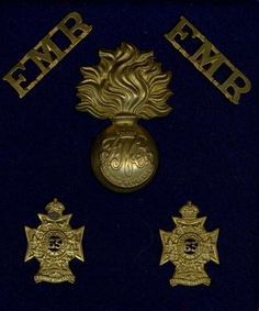 The Fusiliers Mont Royal Canadian Army, Badges, Brooch, History, Metal, Historia, Badge, Brooches