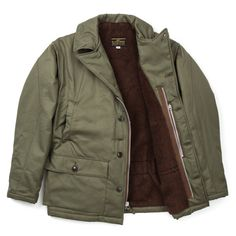 The Real McCoy's AL-1 55J13 Flight Jacket - Olive - ALL PRODUCT - CATEGORIES - Superdenim