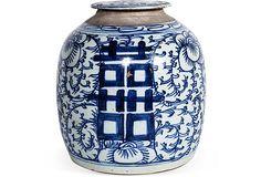 Antique Porcelain Jar on OneKingsLane.com