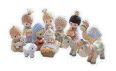 bijou kaleidoscope: Chic nativity sets for your home