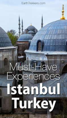 Istanbul Turkey: 22 Must-Have Experiences. Hagia Sophia, Blue Mosque, Golden Horn, Bosphorus River, where to eat, where to stay.