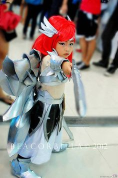 Mini Erza kid cosplay
