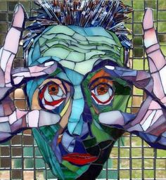 I love this piece. Great mosaic!
