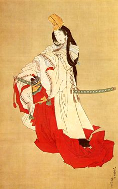 肉筆美人画 : Hokusai Katsusuka