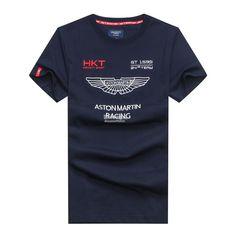 HKT Hackett Sport Aston Martin Racing 1595 Team Summer Men T-shirt Tees  Hommes, e7875b31016
