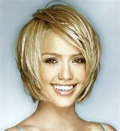 Image Detail for - Medium To Short Choppy Bob With Long Side Swept Bangs Back Top
