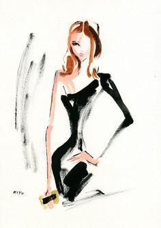 Kasia Struss for Zara Evening, by miyuki ohashi