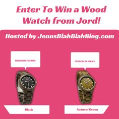 enter to win a wood watch #Giveaay: Enter To #Win A Fieldcrest Series Wooden Watch