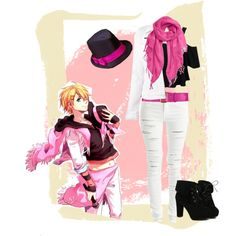Syo Kurusu Casual Cosplay (1000%, Concert) by psychometorzi on Polyvore