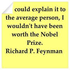 richard feynman quotes Wall Decal