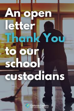 Happy #NationalCustodianDay to our school custodians! No one deserves as much credit as you during this crazy school year. Here's an open letter thank you, from all of us 💕 #thankyoucustodians #covid19