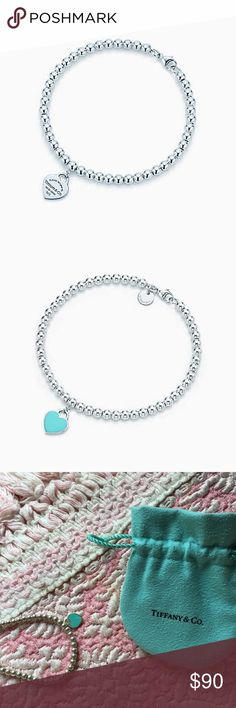 Tiffany and Co Bracelet Tiffany and Co Bracelet. 100% Authentic. Sterling Silver. Comes with Tiffany blue pouch. Tiffany & Co. Jewelry Bracelets