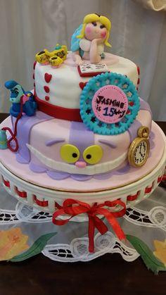 Alice in wonderland cake #redvelvet #Aliceinwonderland #sweetcreation20 #cake #malaysia