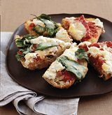 Recipes for party-worthy finger foods that take 20 minutes or less from start to finish.