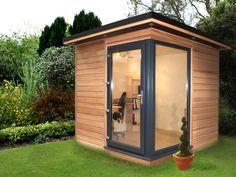 The smallest garden room by http;//www.futurerooms.co.uk
