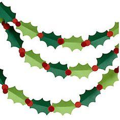 Holly Garland Kit Christmas