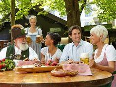 Biergarten-Saison in Bayern, © Oberbayern